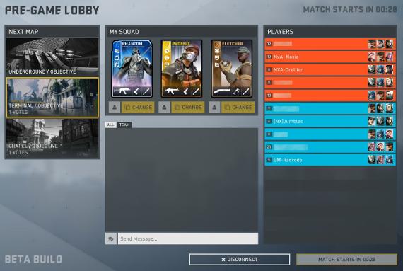 New Lobby Teamed