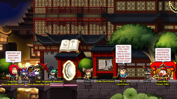 Shanghai and Shaolin Temple Now Open! | MapleStory