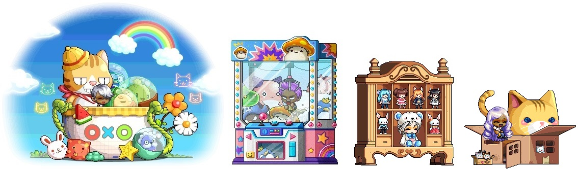 Red Wing Chair [Updated] Cash Shop Specials 7/20 - 7/26 | MapleStory