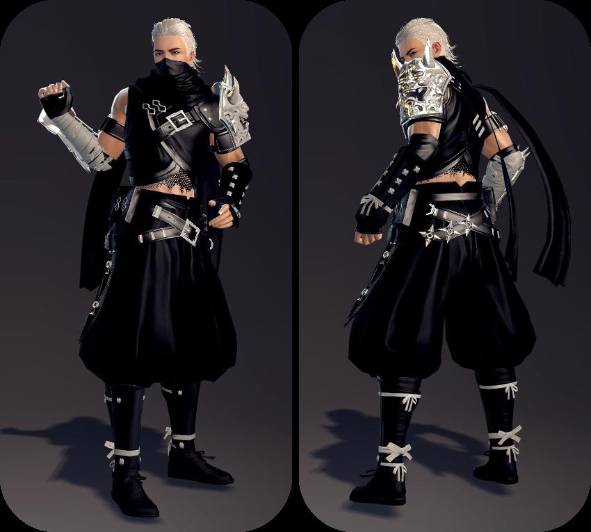 Request Vindictus Ninja Armor Conversion For Skyrim Hdt
