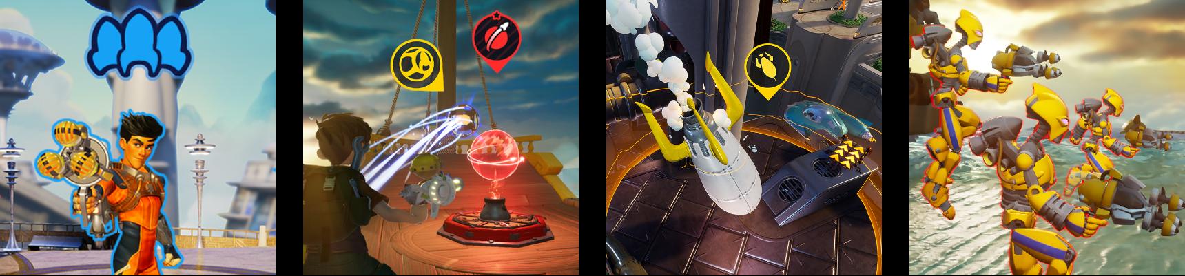 Electronic Arts, Final Strike Games, Rocket Arena