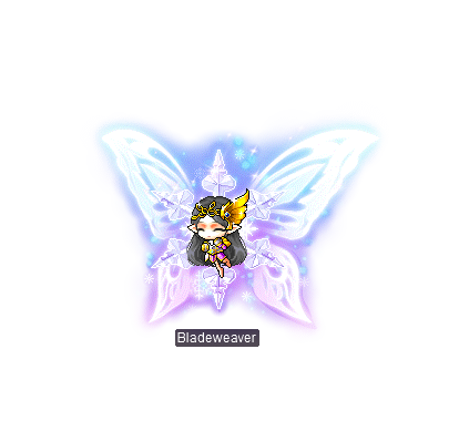 MapleStory July 8 Gachapon Mounts Snowflake Wings Mount