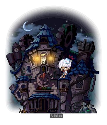 MapleStory Sengoku Returns Asura War MMORPG Haunted Mansion Chair