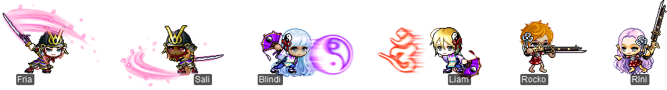 MapleStory October 7 Cash Shop Update Hayato Kanna Ayame Items