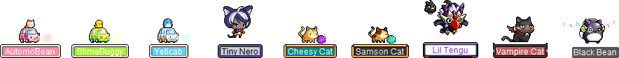 MapleStory October 14 Cash Shop Update Reboot Wonderberry Pet Equipment