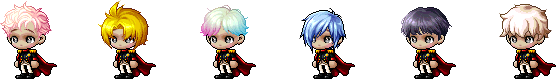 MapleStory October 28 Cash Shop Update Male Royal Hairstyles
