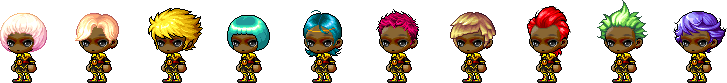 MapleStory October 21 Male Choice Hair