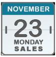 Black Friday Sales for Nov 23