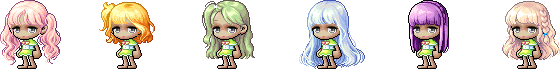 MapleStory December 9 Cash Shop Update Female Royal Hairstyles