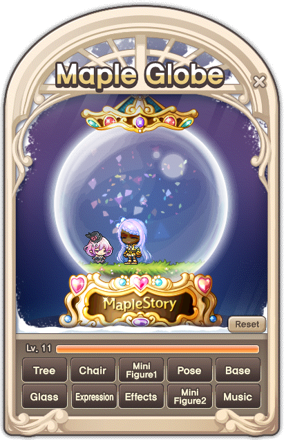 MapleStory December 16 Gachapon Maple Globe Additions