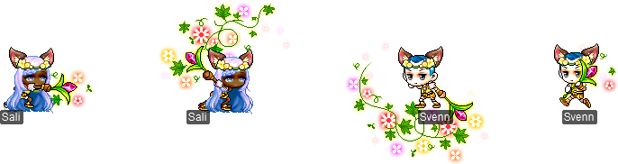 MapleStory December 16 Cash Shop Update Child of the Goddess Permanent Outfit Package
