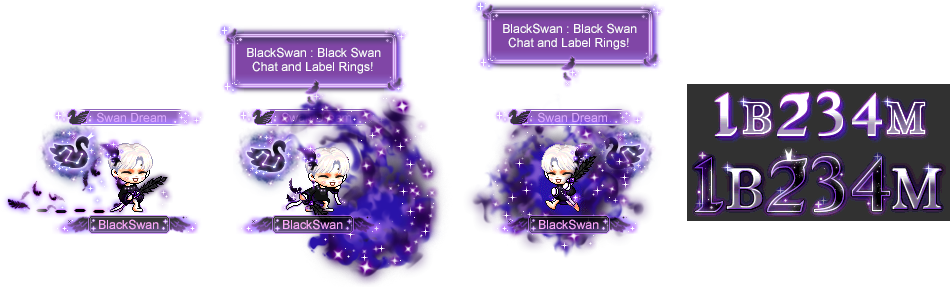MapleStory December 16 Cash Shop Update BTS Black Swan Master Package