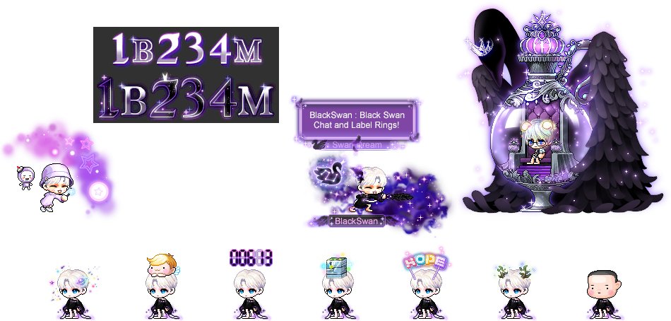 MapleStory December 16 Cash Shop Update BTS Signature Package