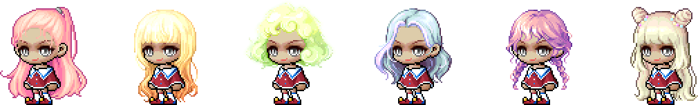 MapleStory February 3 Cash Shop Update Female Royal Hairstyles