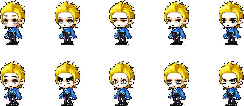 MapleStory February 3 Male Choice Face