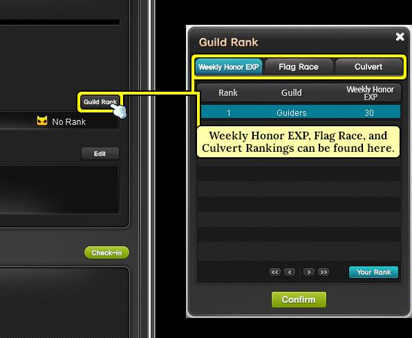 MapleStory Guild Rankings