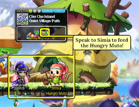 MapleStory Speak to Simia