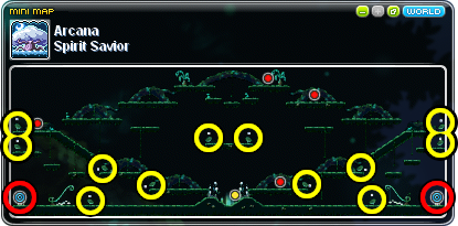 MapleStory Portal and Launcher Locations