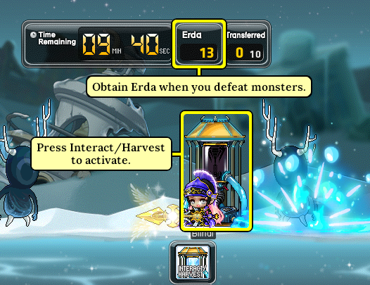 MapleStory Gathering Erda for the Collector