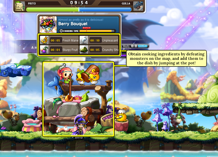 MapleStory Hungry Muto Ingredients