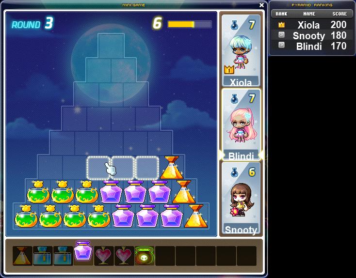 Maplestory Full Moon Events Potion Pyramid