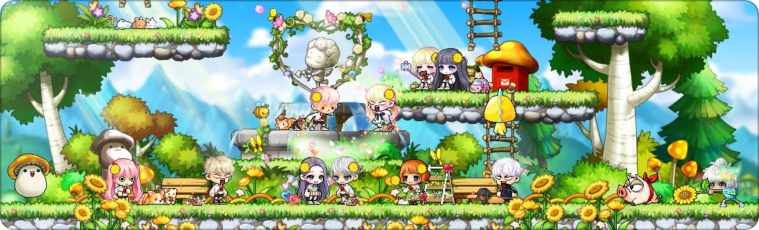MapleStory Spring Blossoms MMORPG