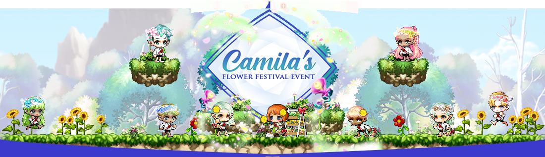 MapleStory Camila's Flower Festival Event