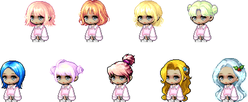 MapleStory March 31 Cash Shop Update Male April Fools Hairstyles