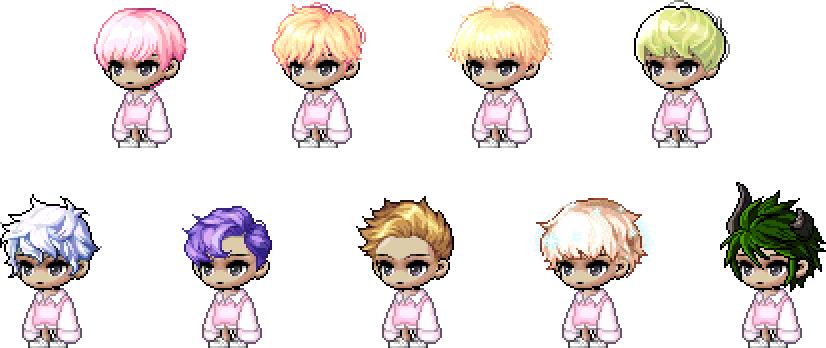MapleStory March 31 Cash Shop Update Female April Fools Hairstyles