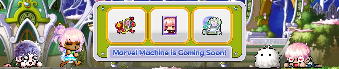 MapleStory March 2021 Marvel Machine