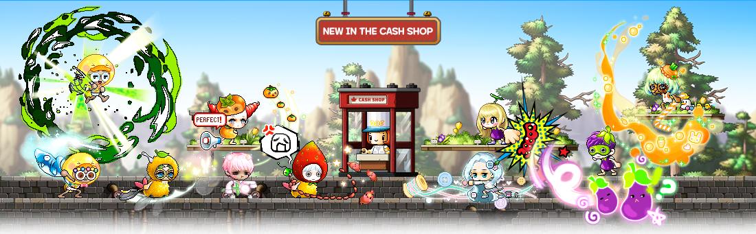 MapleStory March 31 Cash Shop Update