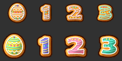 MapleStory April 7 Cash Shop Update Easter Cookie Damage Skin Icon