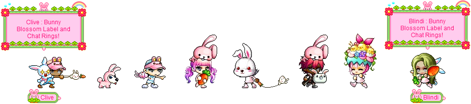 MapleStory April 7 Cash Shop Update Easter Permanent Equipment Covers
