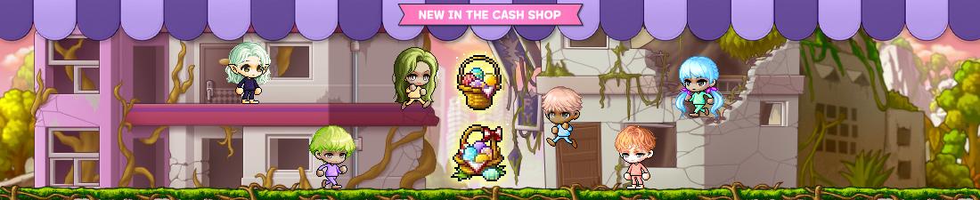 MapleStory April 14 Cash Shop