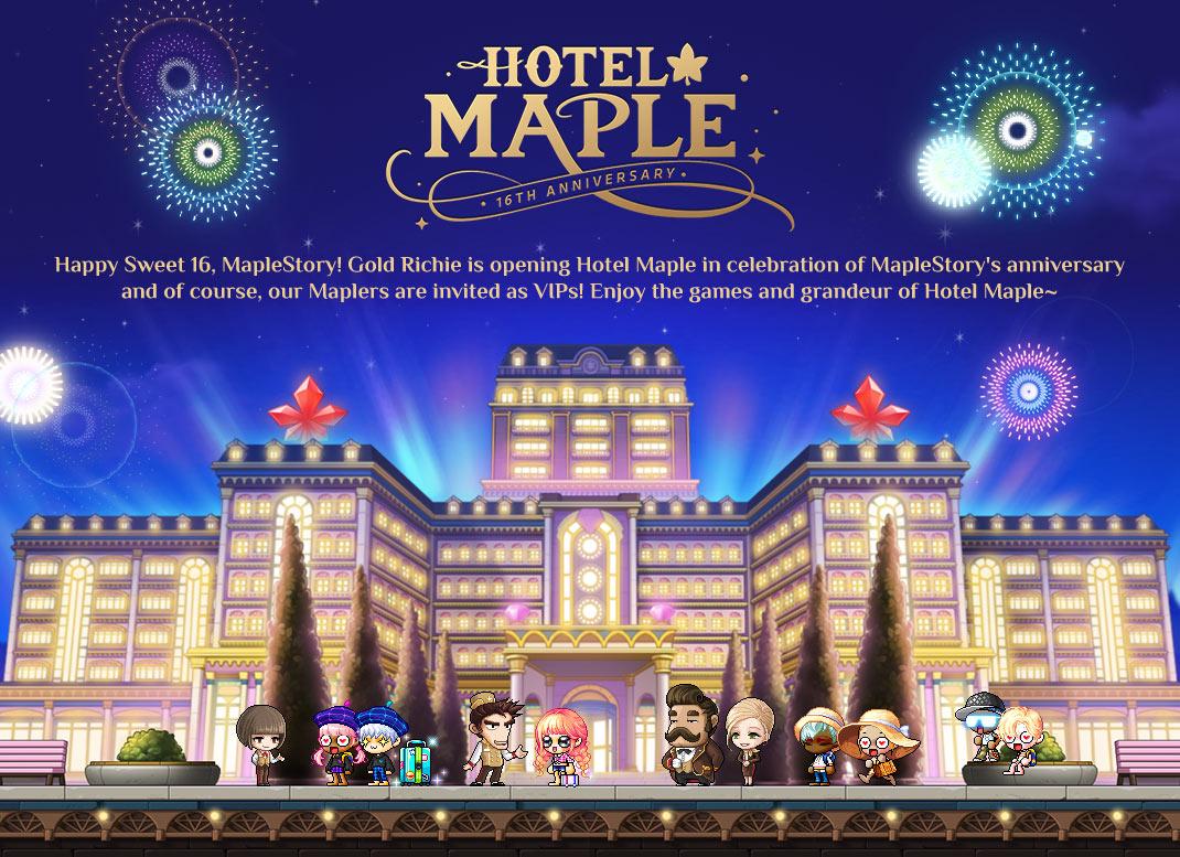 HotelMaple!
