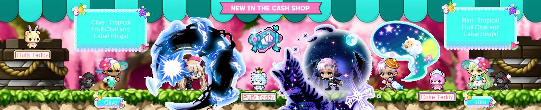 MapleStory April 21 Cash Shop Update