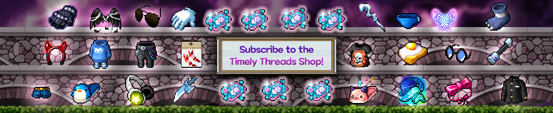 MapleStory Timely Threads Shop
