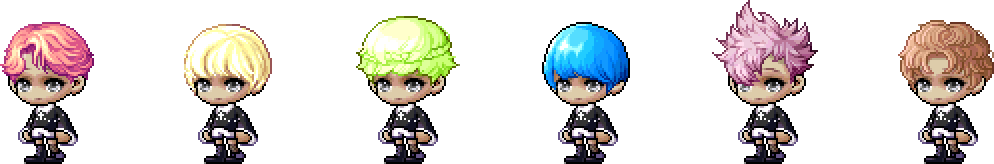 MapleStory April 28 Cash Shop Update Male Royal Hairstyles