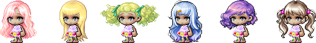 MapleStory April 28 Cash Shop Update Female Royal Hairstyles