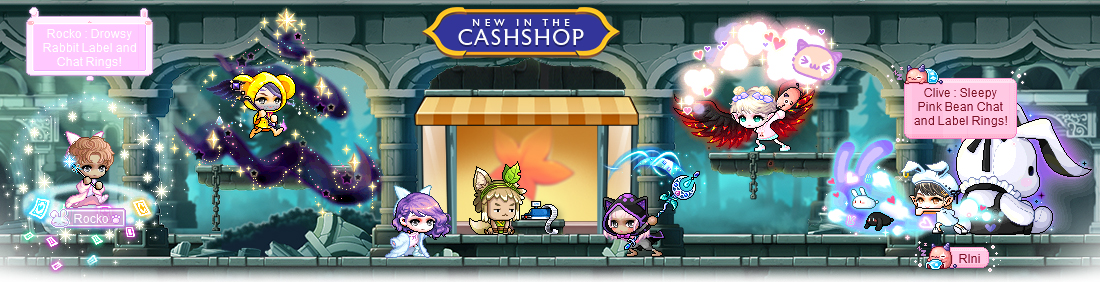 MapleStory May 12 Cash Shop Update