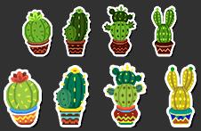 MapleStory June 2 Cash Shop Update Cactus Damage Skin Icon