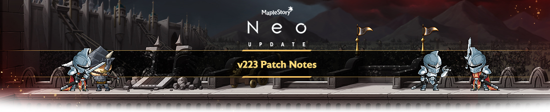 MapleStory Neo: Darkness Ascending Patch Notes MMORPG