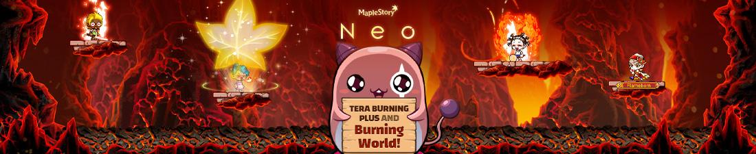 MapleStory Tera Burning Plus and Burning World