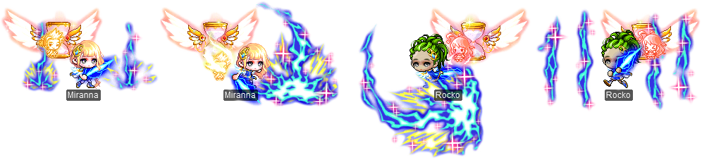MapleStory July 21 Cash Shop Update Child of the Goddess Permanent Outfit Package