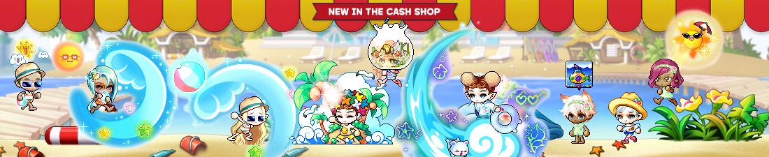 MapleStory July 28 Cash Shop Update