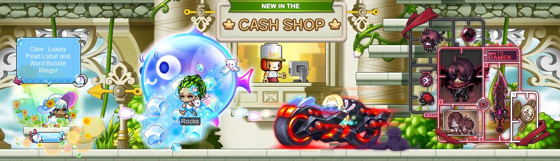 MapleStory August 4 Cash Shop Update MapleStory