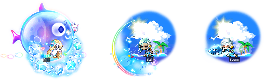 MapleStory August 4 Summer Surprise Style Box Contents