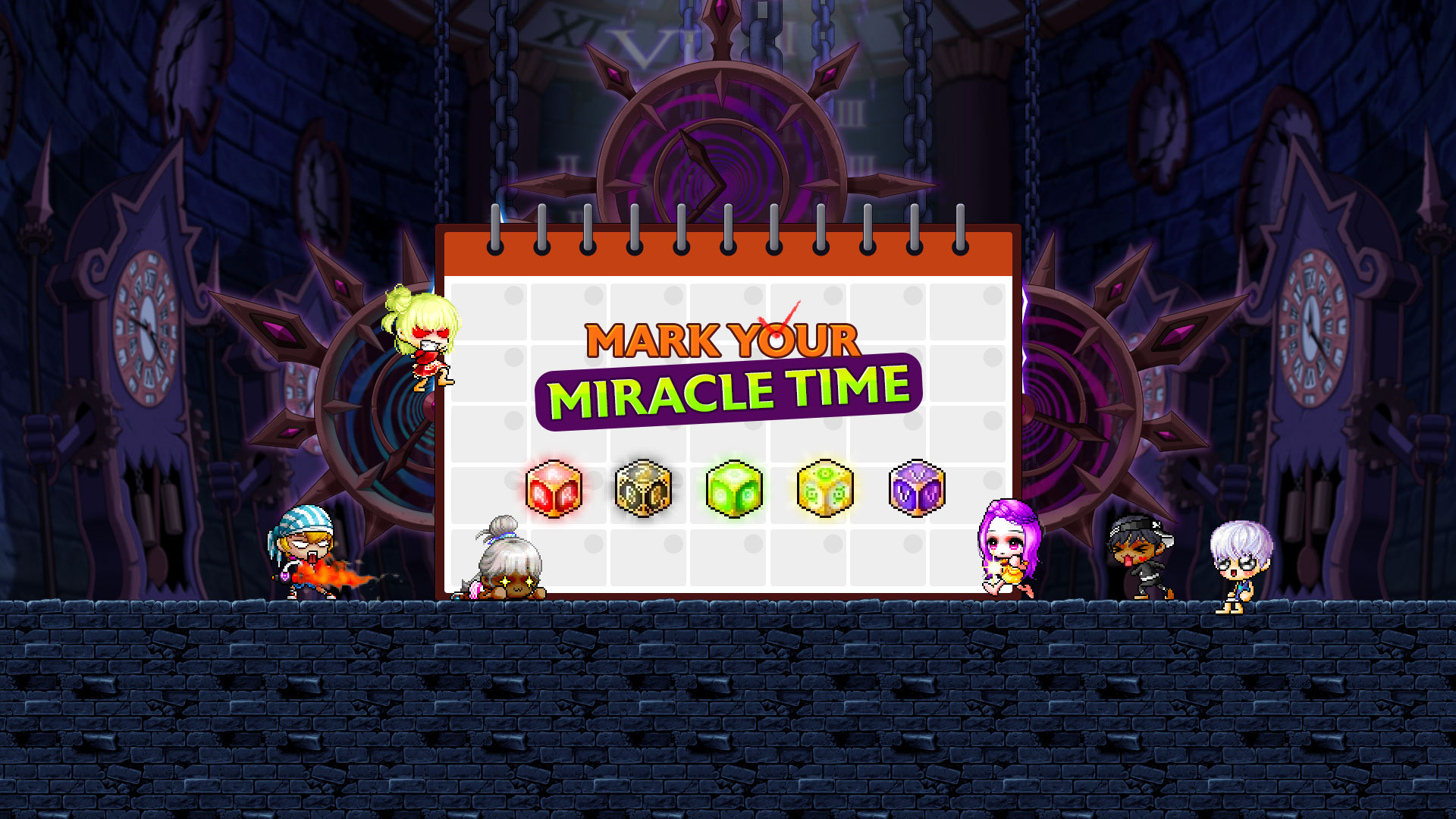 Mark Your Miracle Time Event