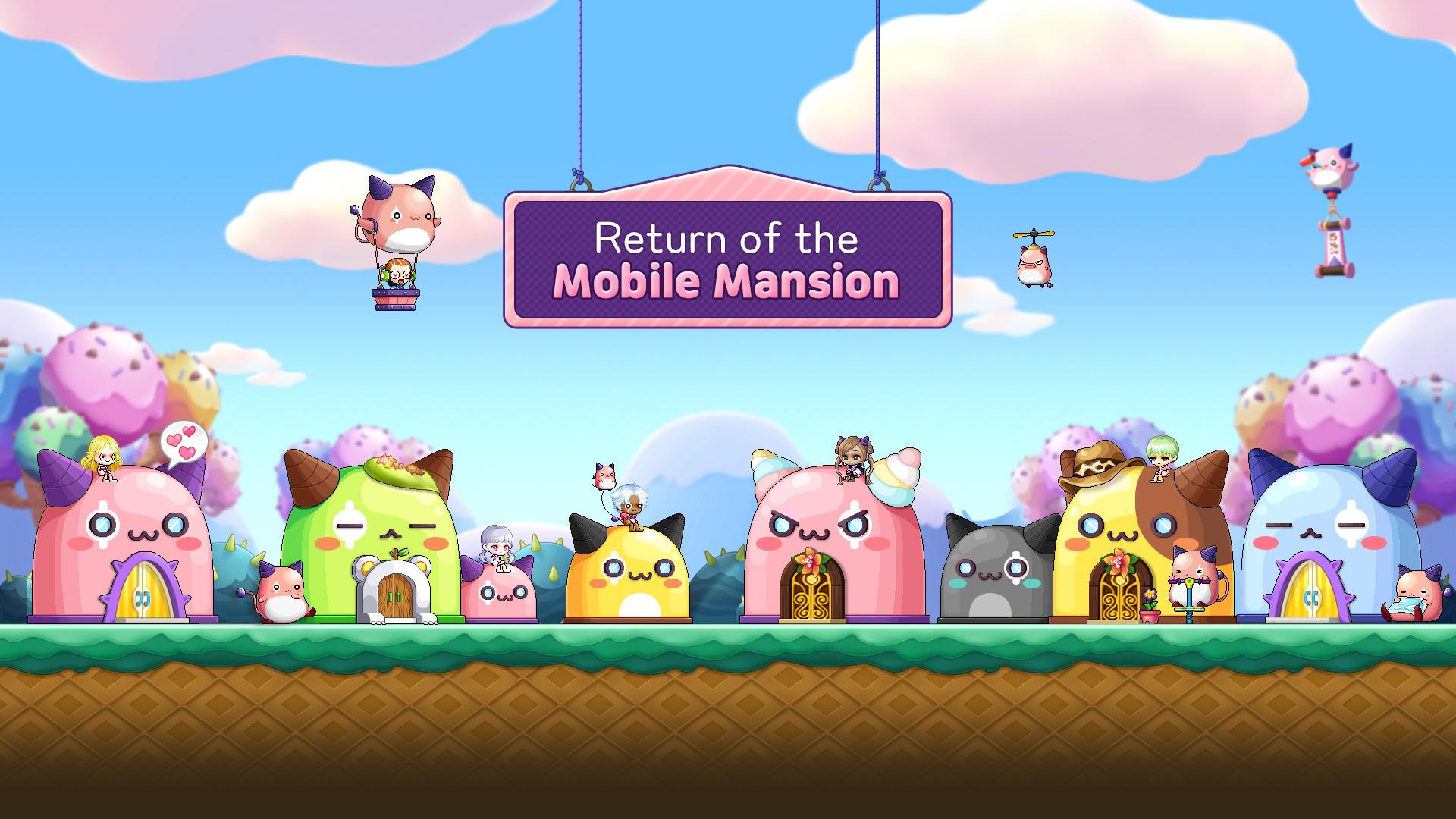 Return of the Mobile Mansion!